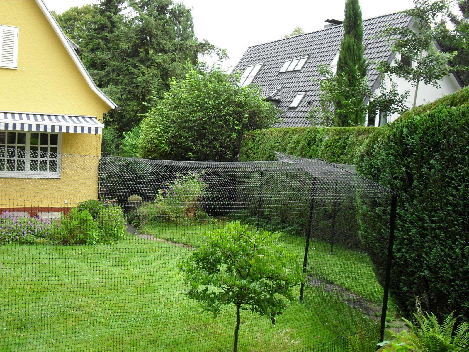 katzengehege system zur gartensicherung | katzen | pinterest