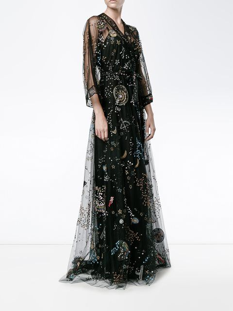 Valentino  Astro Couture  evening dress  35628beb42008
