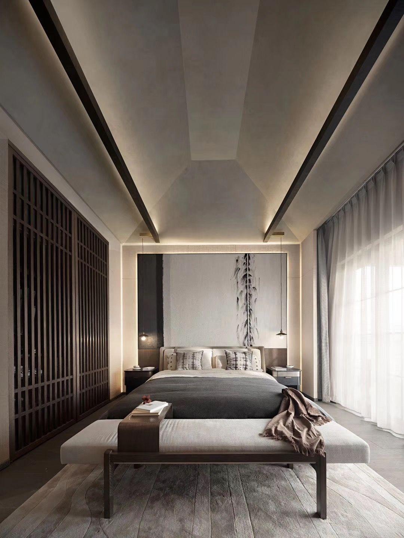 Schlafzimmer Hotel Design