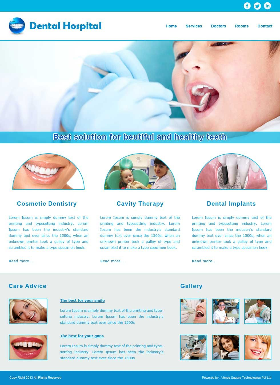 Website Template 25 Website Designing, Website Development, Custom ...