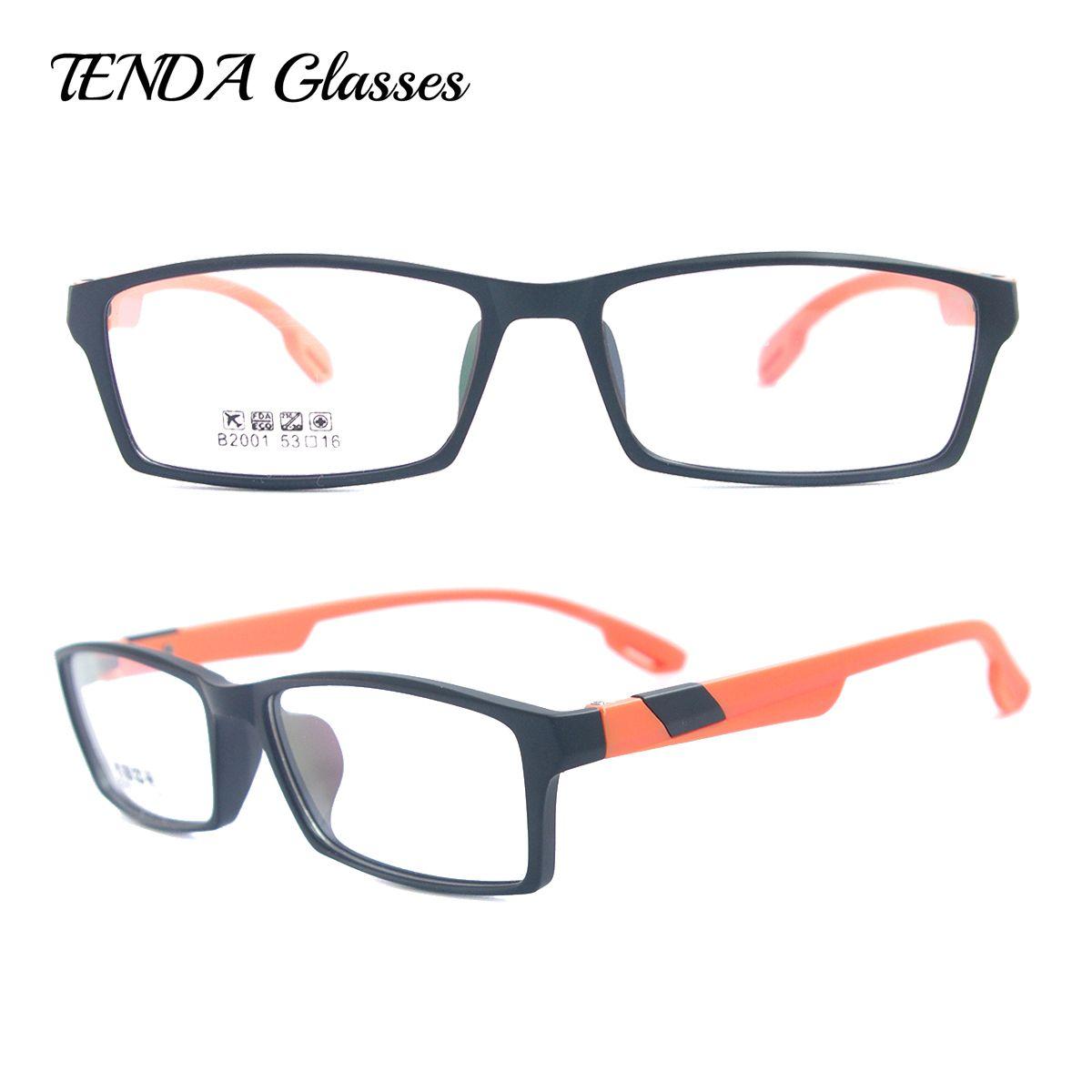 Fashion Colorful TR90 Glasses Men Optical Glasses Frame For Myopia ...