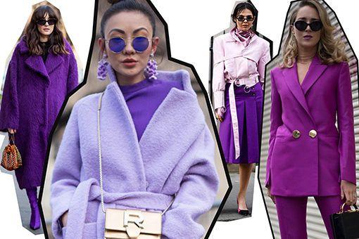 Violett kombinieren: So trägt man die Trendfarbe Lila richtig - GLAMOUR