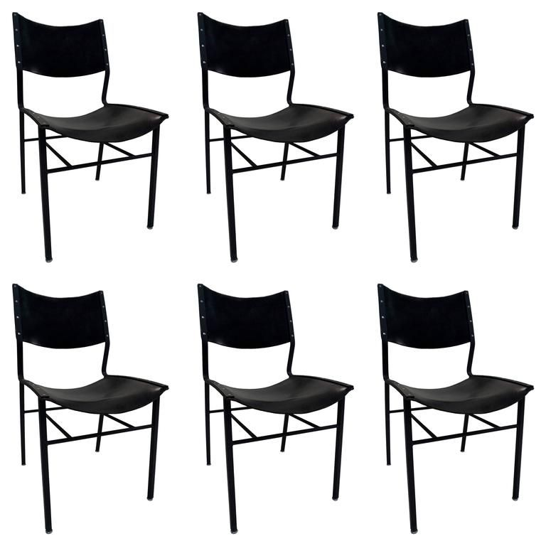 1980s michael ryan set of six dining chairs from a unique collection of antique and - Set Of Six Dining Room Chairs