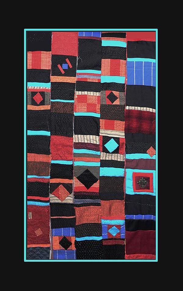 Streifen, African quilt | T E X T E R E | Pinterest