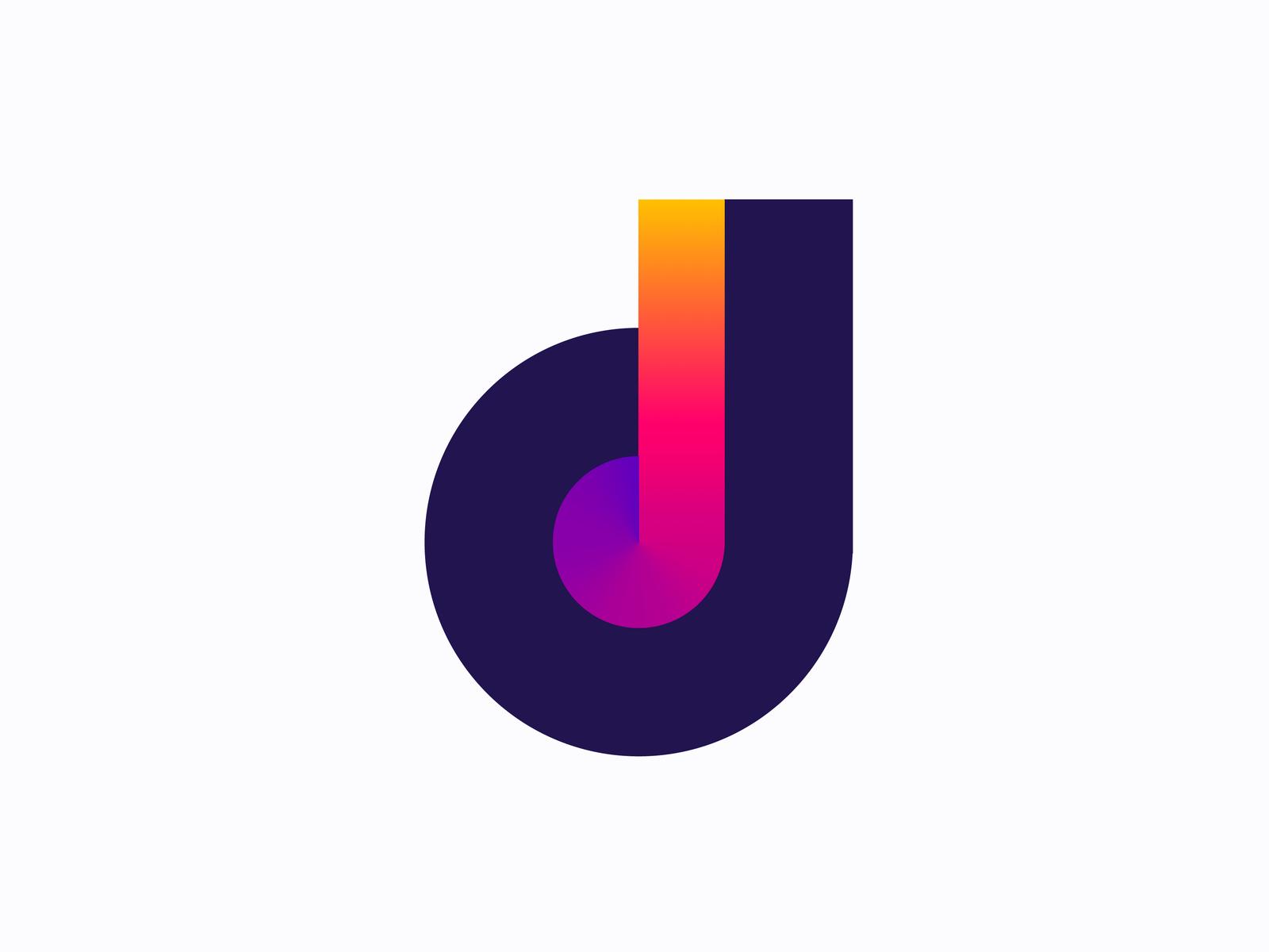 D For Disco Logo Concept For Sale Logo Concept Dj Logo Disco
