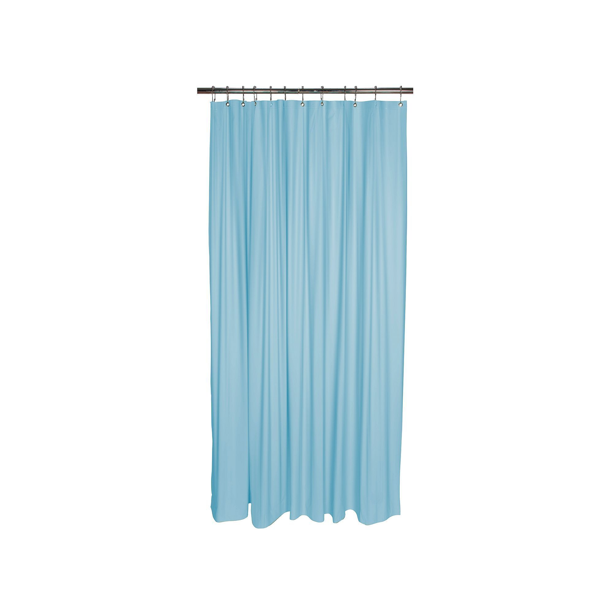 Bath Bliss Heavy Weight Mildew Resistant Shower Curtain Liner, Blue ...