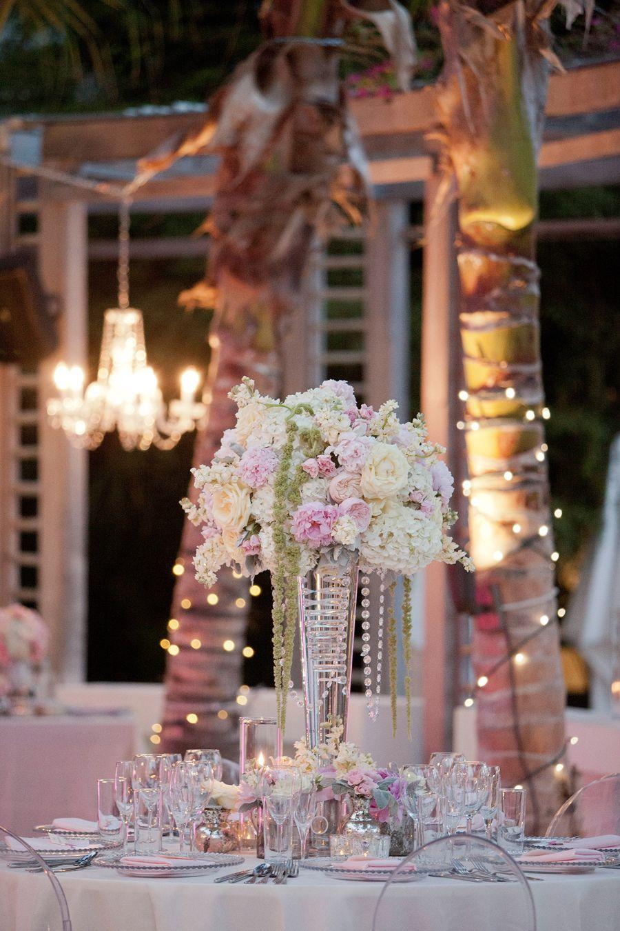 table setup* ( with green and lights)