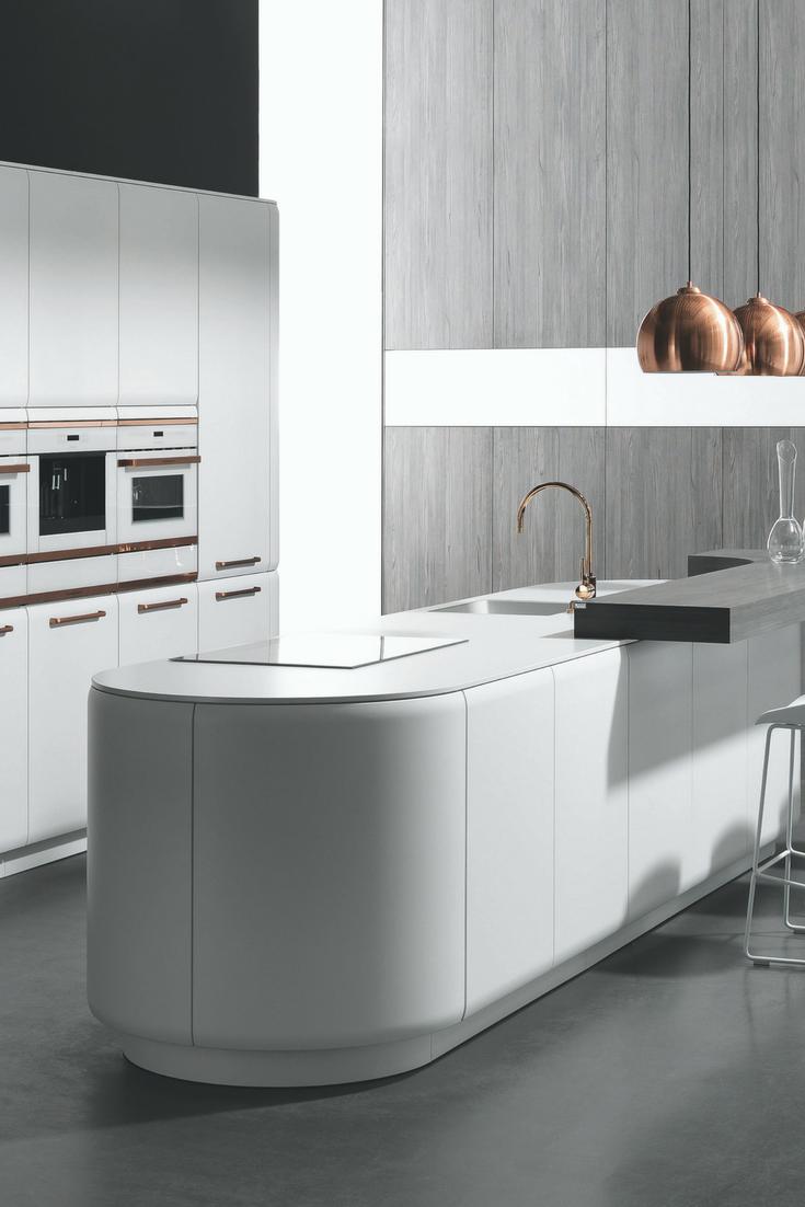 Eine Weiße Kücheninsel Ist Ein Traum! Bilder Und Ideen Für Traumküchen Mit  Weißen Kochinseln