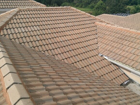 Finished with the roof leak repair in Lakewood Ranch, Fl