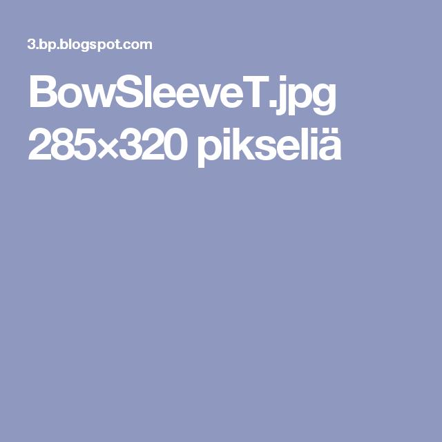 BowSleeveT.jpg 285×320 pikseliä
