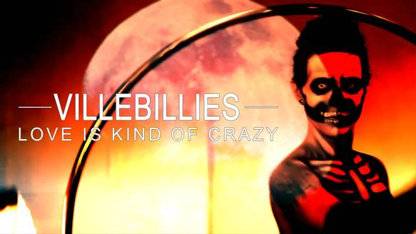 """Check out Villebillies' music video for """"Love is Kind of Crazy""""!   https://www.youtube.com/watch?v=prSVnsa6pUA"""