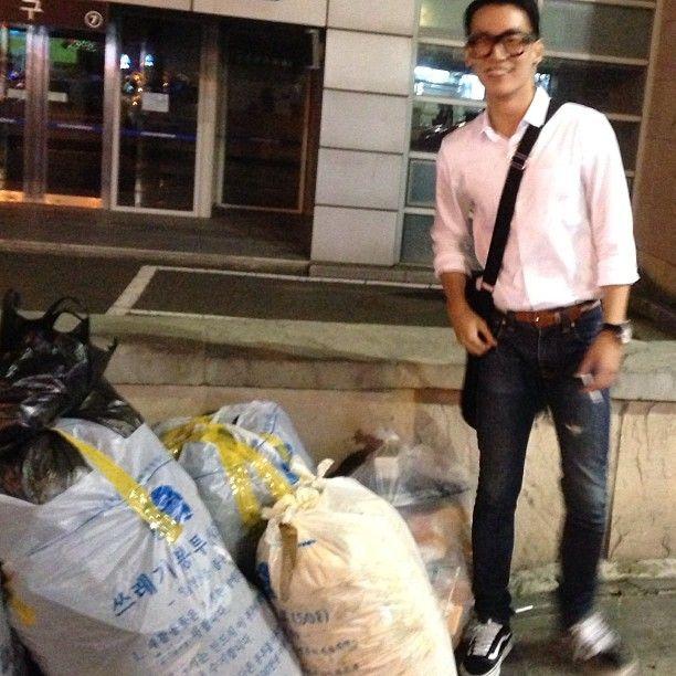.@jotsseung | #쓰레기 랑 한컷^^* | Webstagram