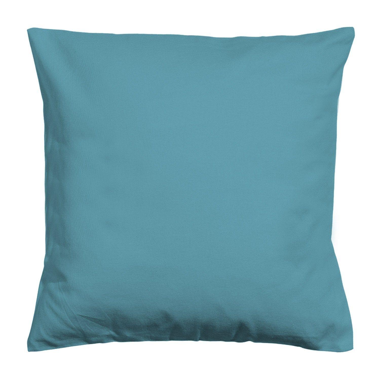Housse De Coussin Elema Inspire Bleu Canard L 60 X H 60 Cm Housse De Coussin Coussin Assise Et Assise De Chaise