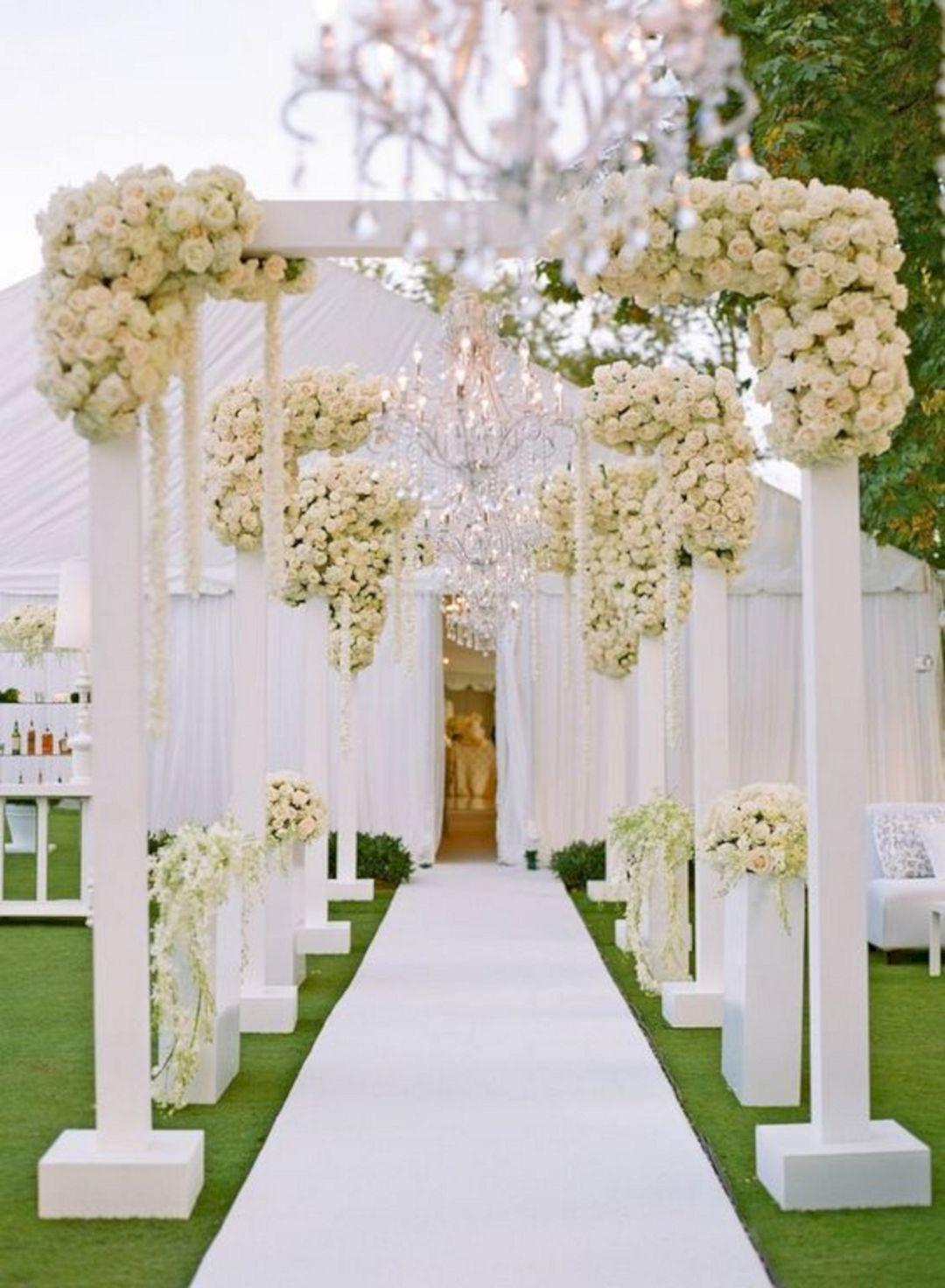 Wedding entry decoration ideas   Amazing Wedding Entrance Decoration For Perfect Wedding Party