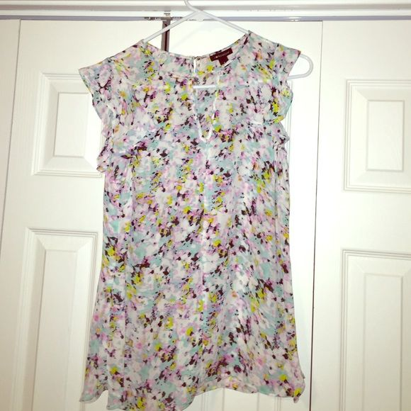 blouse Beautiful blouse with beautiful colors. no trade Tops Blouses