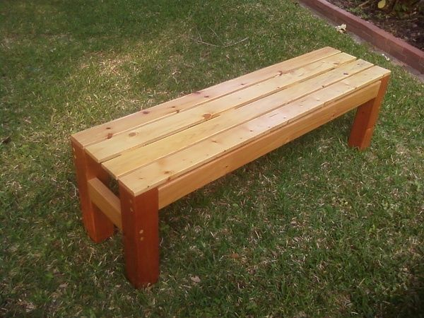Patterns For Wooden Benches Wooden Bench Woodworking