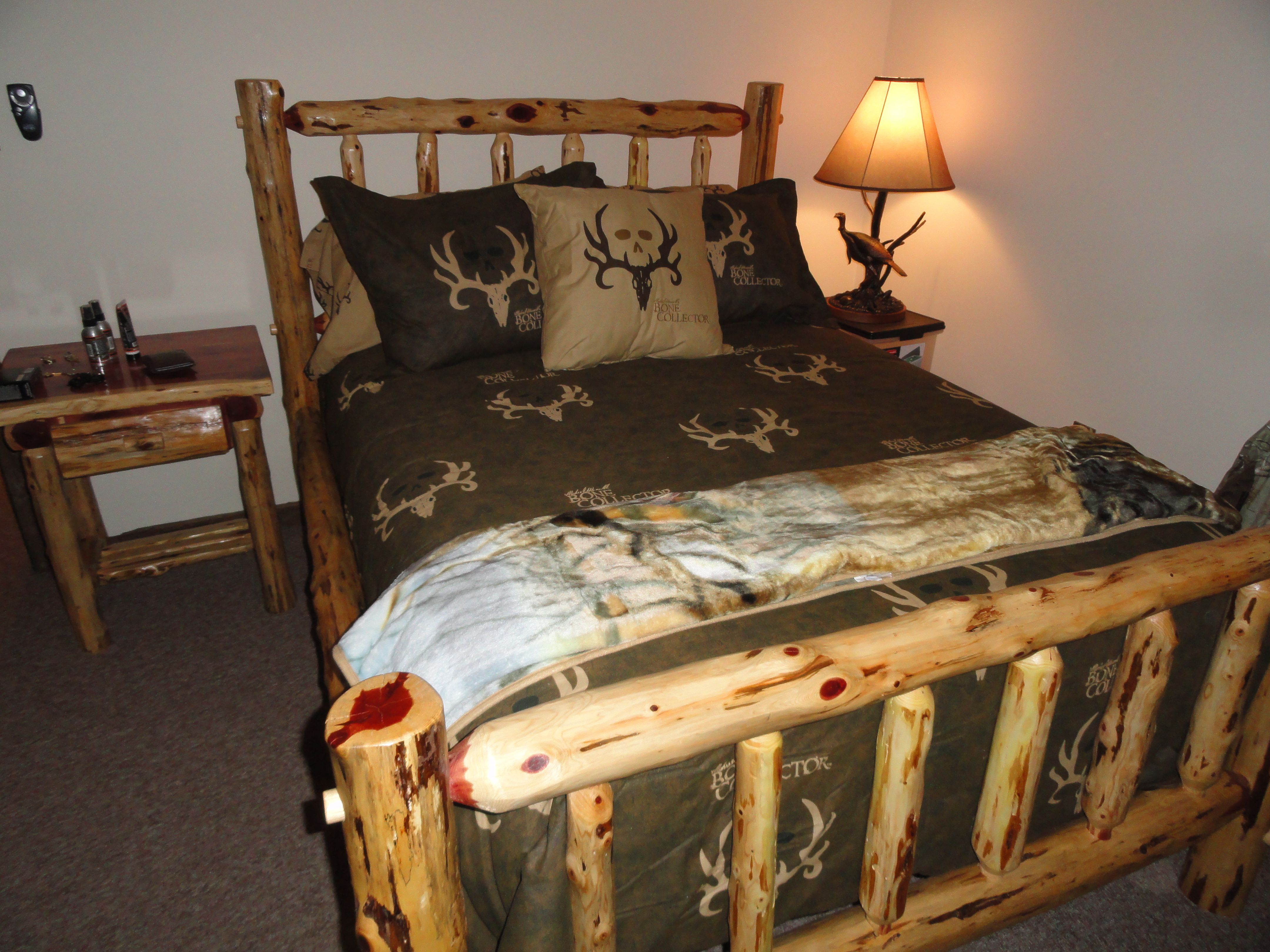 Bedroom Furniture In Our Hunting Lodge