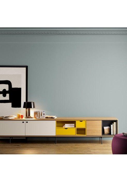 Vitrine haze 2019 furniture design mobilier de salon meuble tv meuble t l design - Meuble tv encadrement ...