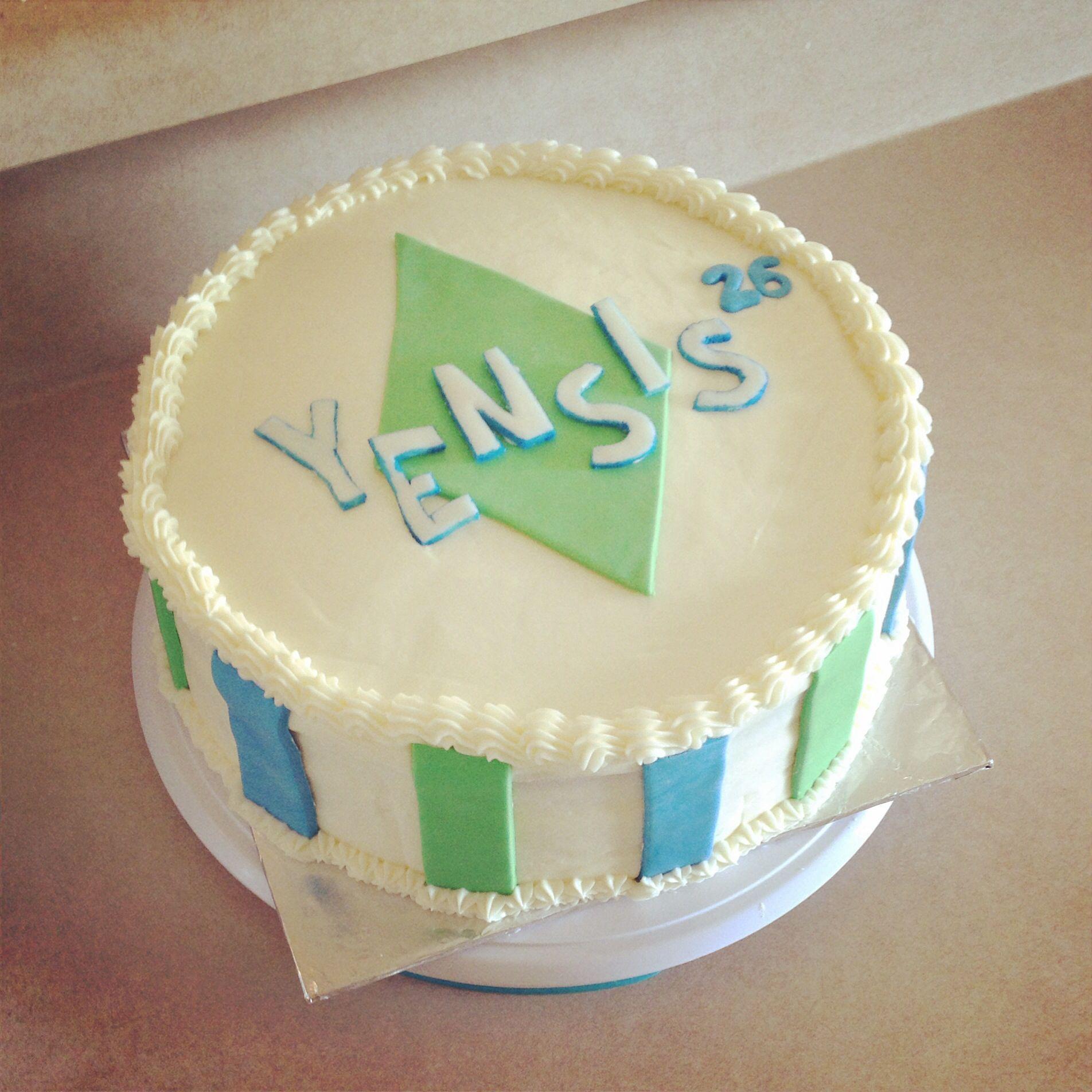 Sims inspired cake