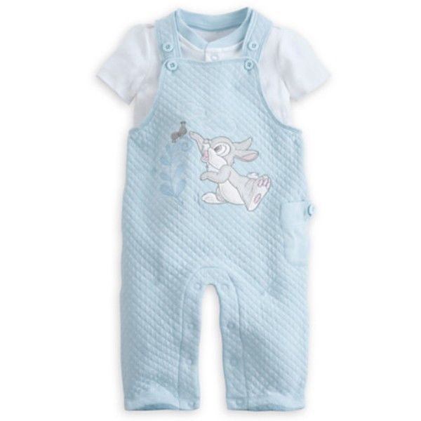 82437c2aeee0 NWT Baby Boys Disney Thumper Dungaree 2 Piece Set - Size 12-18 ...