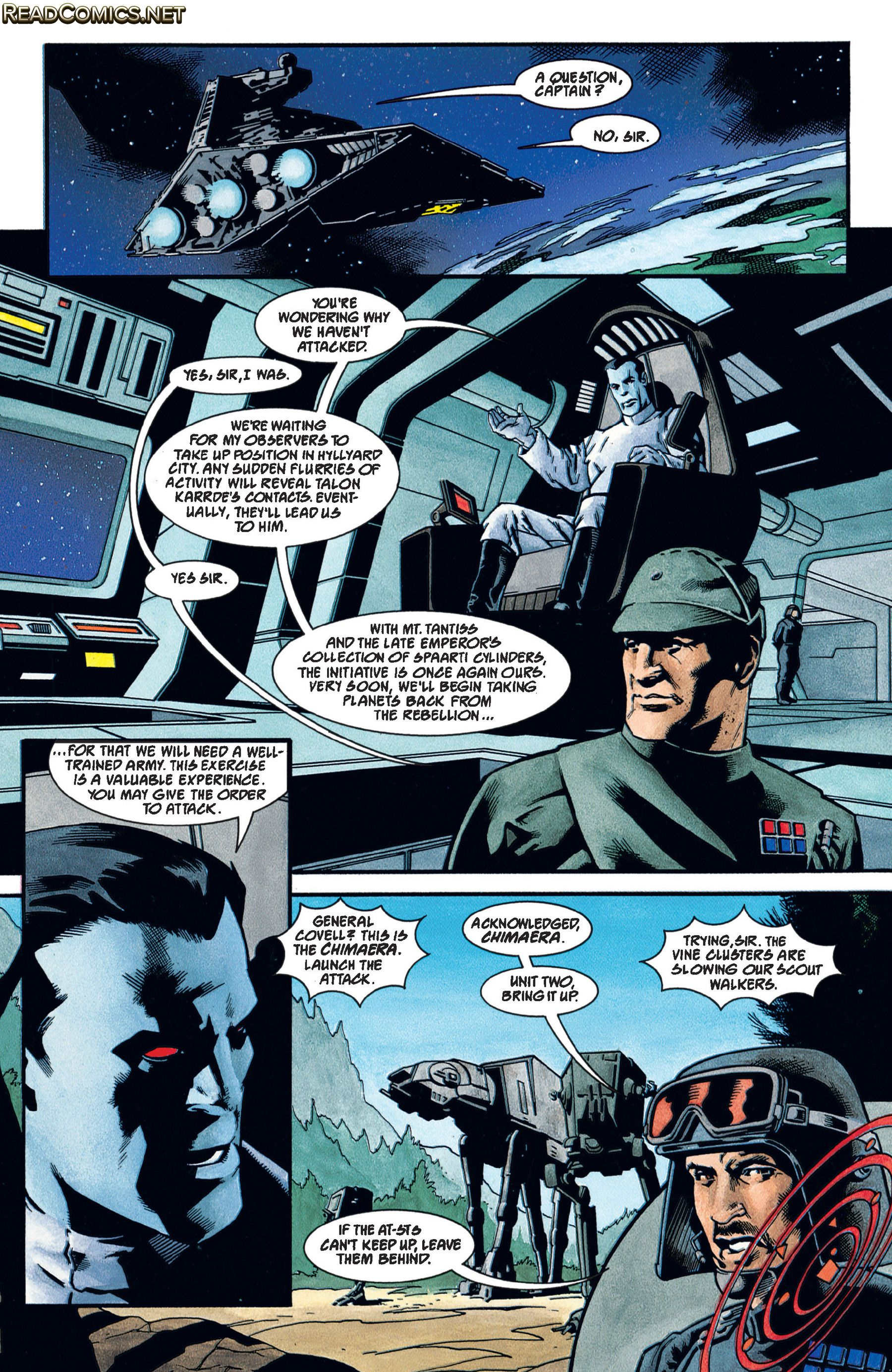 Star Wars: Dark Force Rising #1