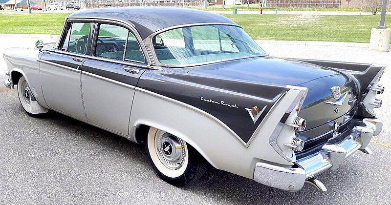 1956 Dodge Custom Royal Sedan 37 000 Miles Custom Cars Paint Dodge Chrysler Cars