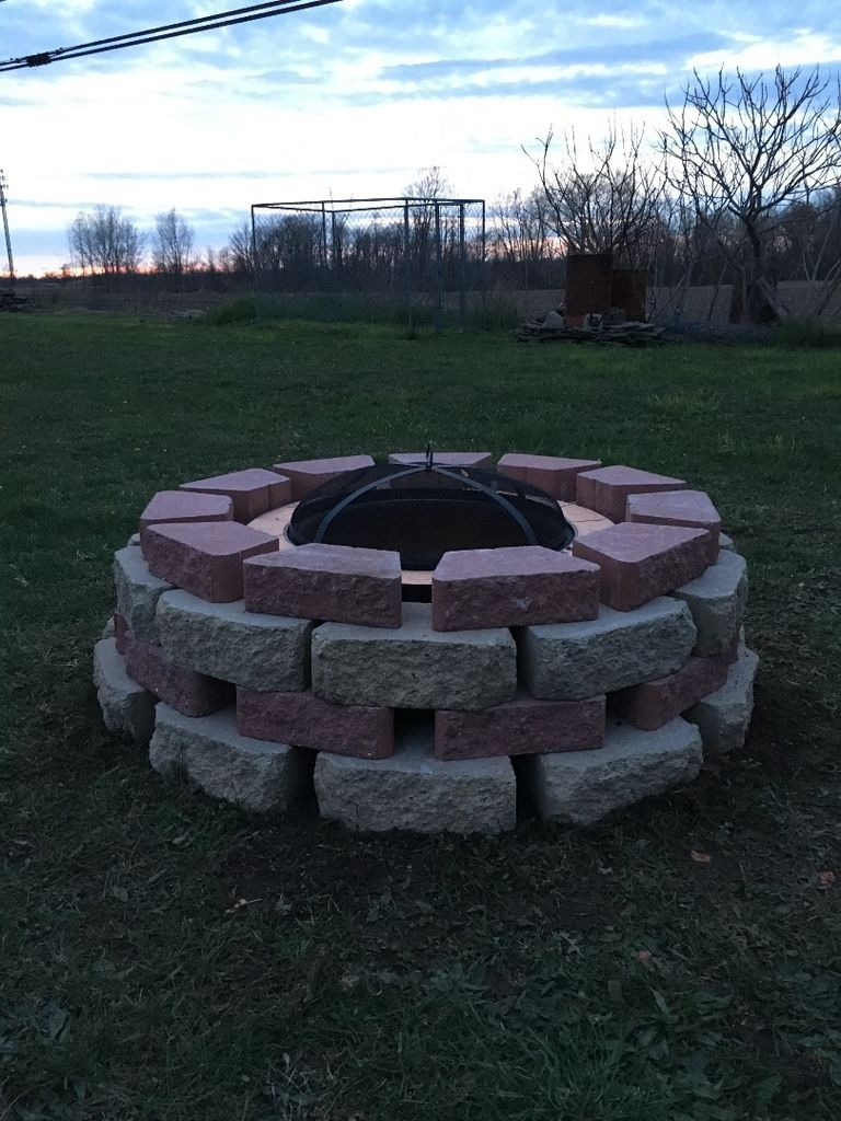50 fire pit using concrete tree rings fire pit uses