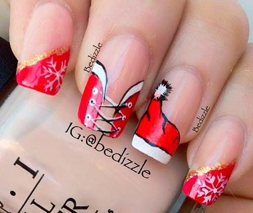 cute simple nail designs christmas nail designs tumblr