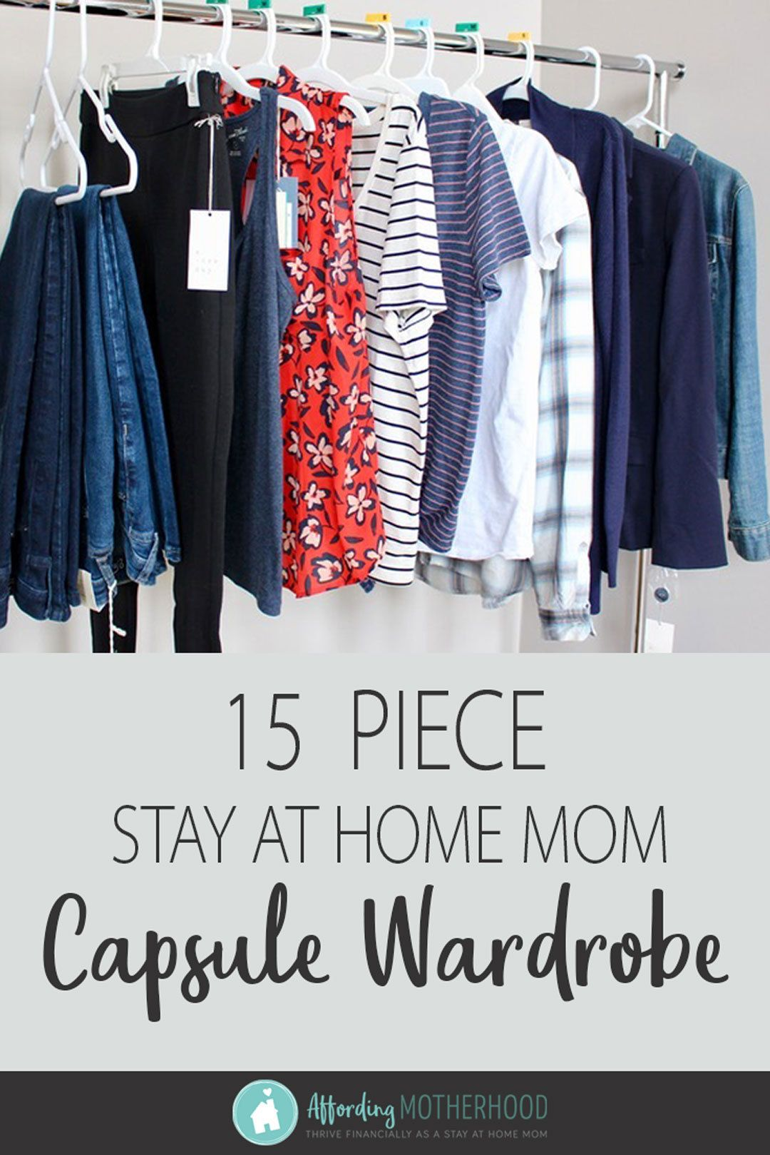 As a stay at home mom, you can still feel confident and comfortable in