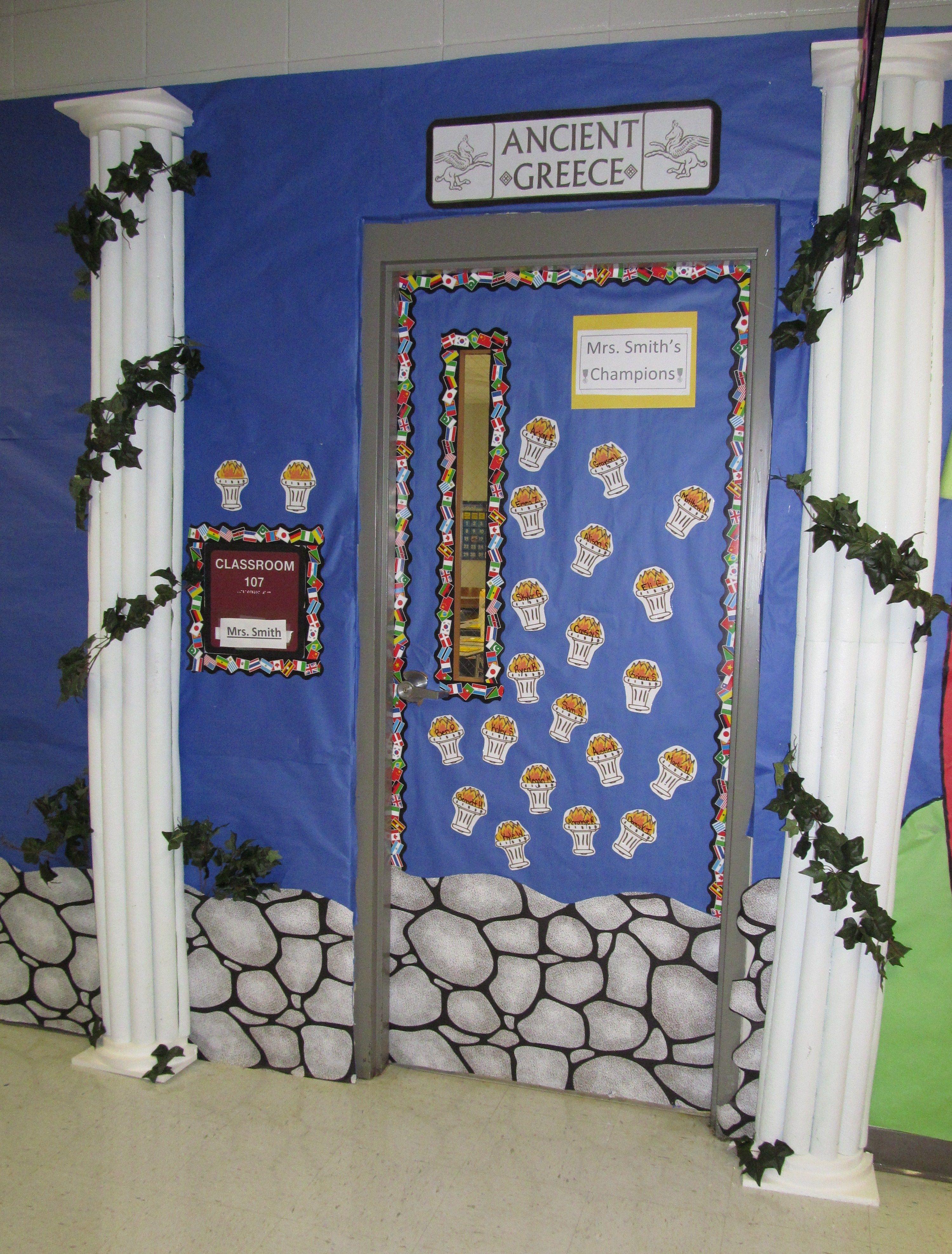 Mrs Smith S Classroom Greece Ancient Greece Display