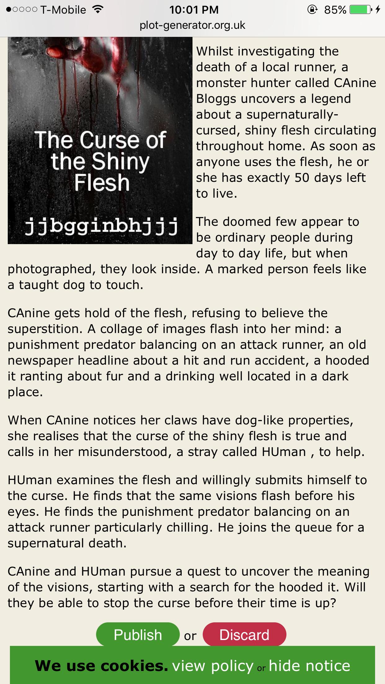 Funny stupid story generator | Fun! | Story generator, Funny, Sherlock
