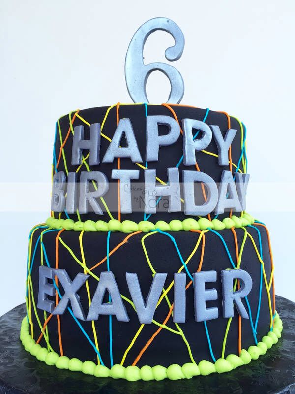 Laser tag cake Cakes and More by Nora Cakes for him Pasteles