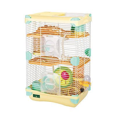 Combo Alice Adventureland Dwarf Hamster Cage Fun Platform Mineral Stone Small Animal Cage Hamster Cage Hamster