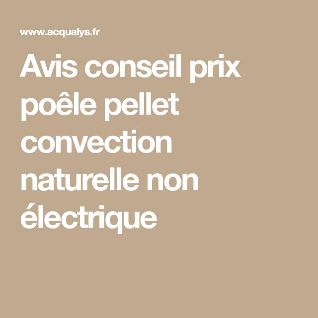 Avis Conseil Prix Poele Pellet Convection Naturelle Non Electrique Convection Naturelle Granule De Bois Poele A Granules