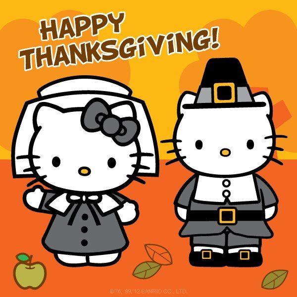 Happy Thanksgiving 3 Hello Kitty Halloween Hello Kitty Hello Kitty Art
