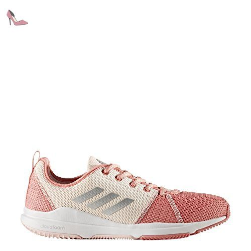 sports shoes 9bf17 2775f adidas Arianna Cloudfoam, Chaussures de Running Compétition Femme, Rose  (Tactile Rose Silver