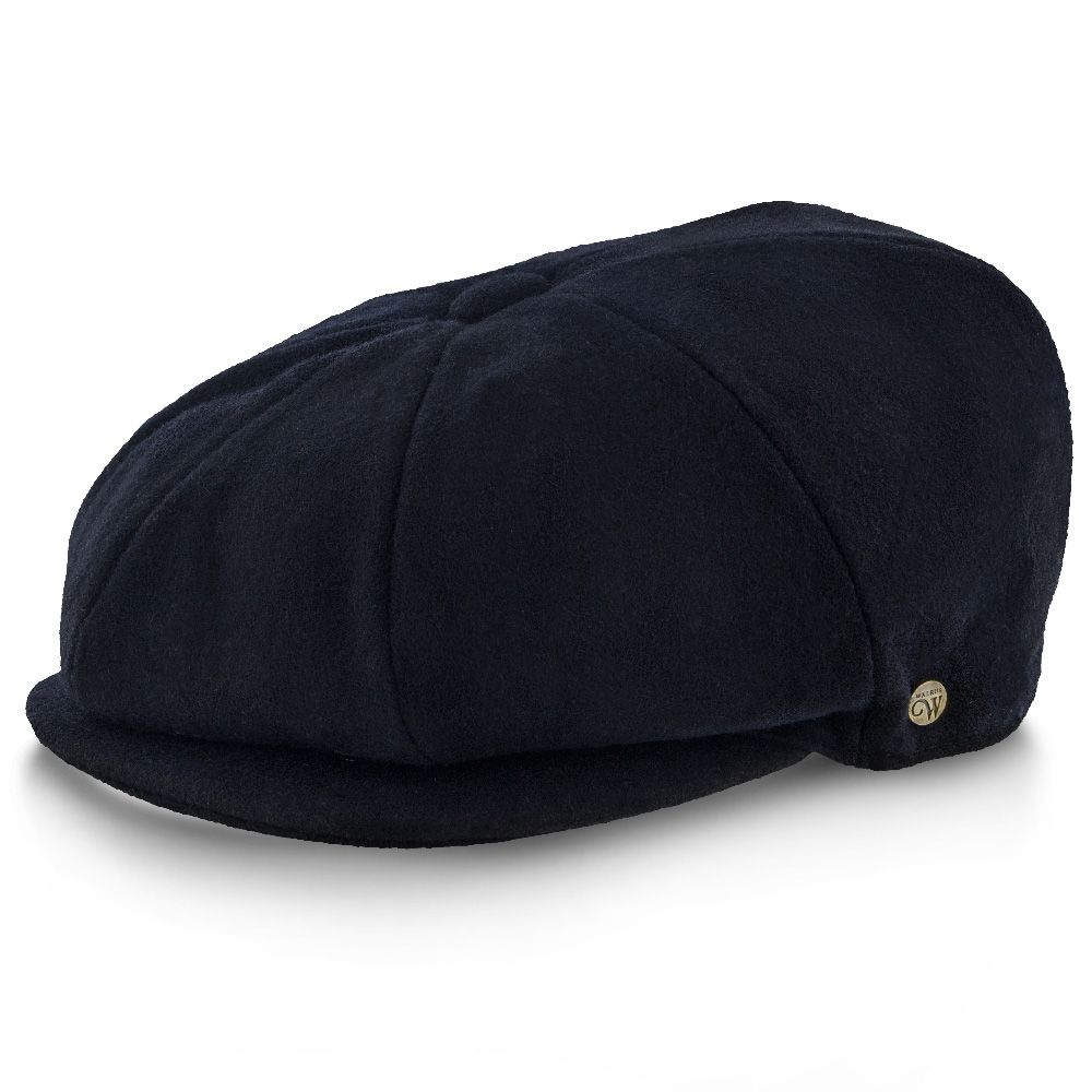 Shelby - Walrus Hat Wool Blend 8 Panel Newsboy Cap ...