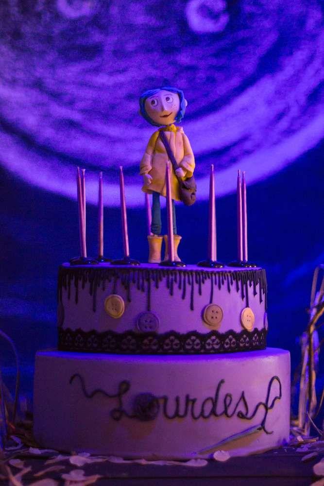 Excellent Coraline Birthday Party Ideas Coraline Birthday Birthday Parties Funny Birthday Cards Online Inifodamsfinfo
