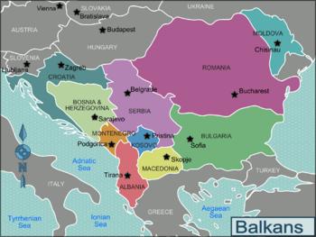 bosnia and serbia map Balkans Regions Map Romania Bulgaria Serbia Bosnia Herzegovina bosnia and serbia map