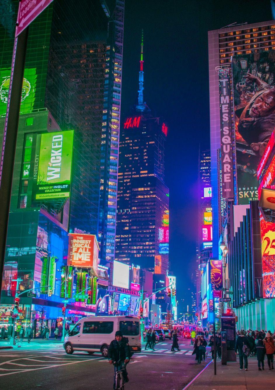 New York City Times Square, Photo by Jamie Kollman