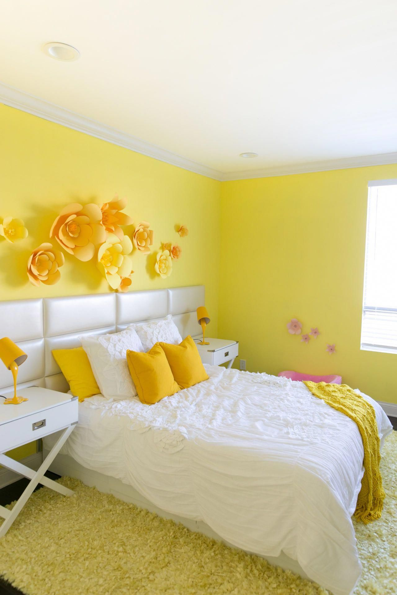 Adelaine Morin S Hello Yellow Bedroom Makeover In 2020 Room