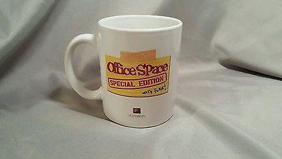 office space coffee mug. Office Space Coffee Mug. 2005 Special Edition W/flair  Mug \\ B