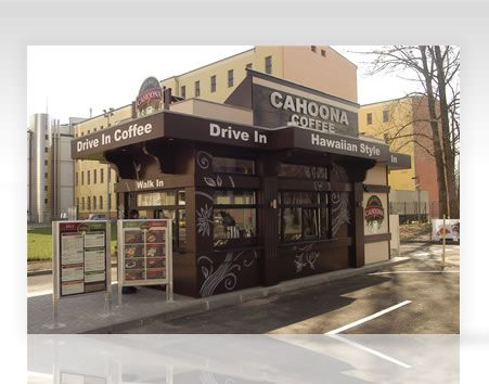 Take Away Coffee Shop And Drive Through Drive Thru Coffee Coffee Shop Business Plan Small Coffee Shop