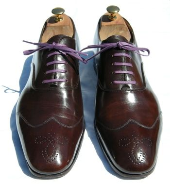 colored shoe laces for dress shoes