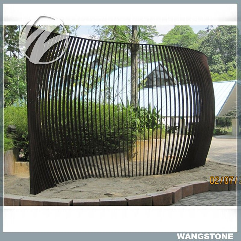 Large Beautiful Corten Steel Fabulous fence panel Screen Sculpture, View Corten Steel Screen Sculpture, Wangstone Product Details from Xiamen Wangstone Trading Co., Ltd. on Alibaba.com