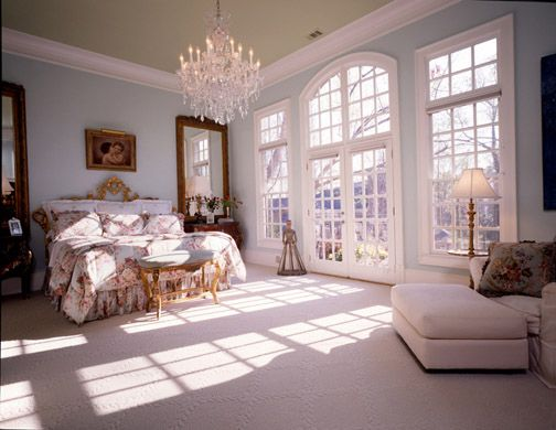 The Master Suite Love The Doors Home Design Pinterest Country Master Bedroom Bedroom