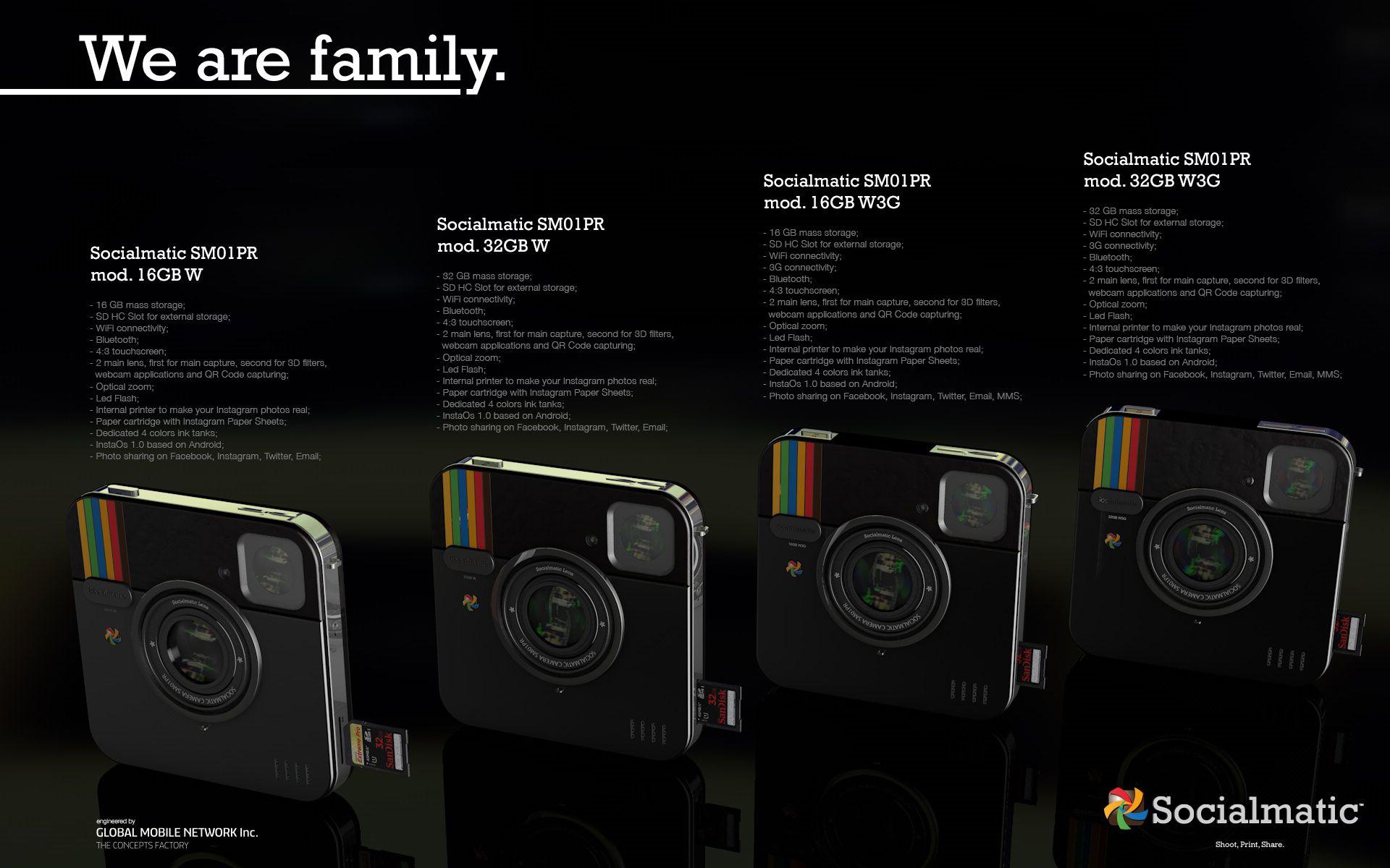 L'appareil photo Instagram-Polaroid devient réalité