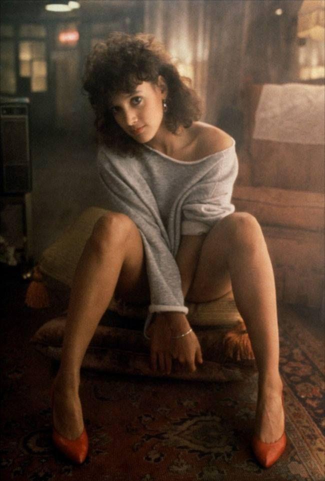 ed346d6c510e3 20 Iconic  FASHION Moments In Films - Jennifer Beals In Flashdance.  Sportswear – including leg warmers