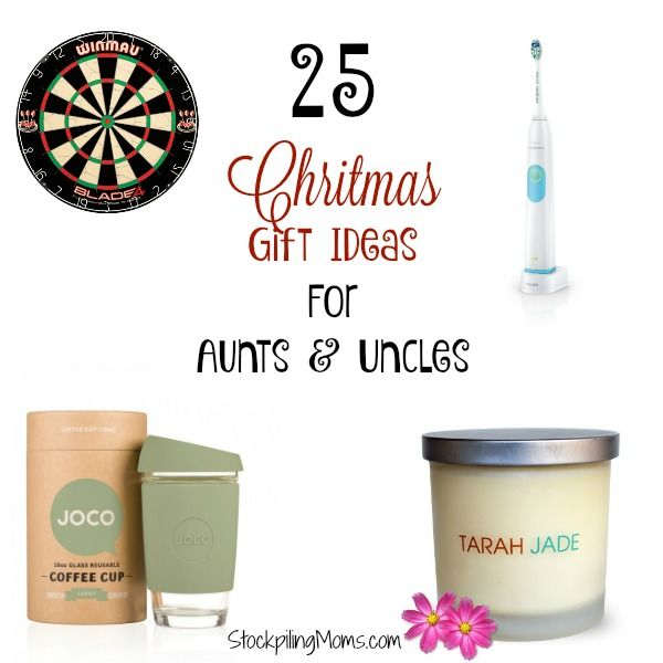 Christmas Gift Ideas For Aunts And Uncles Christmas Gifts