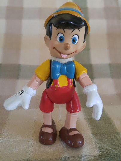 Bendable Posable Pinocchio Doll by MooskerdooGlass on Etsy
